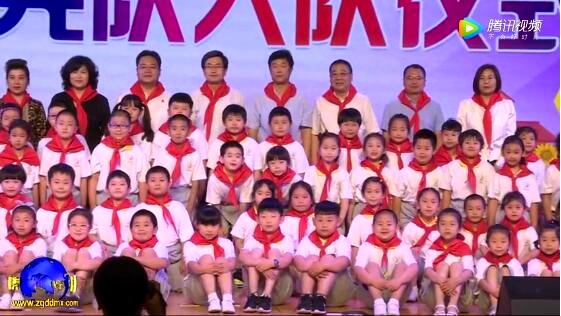 """北京市平谷区第六小学""""六一""""分批入队仪式"""